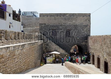 Fortress Wall Morocco