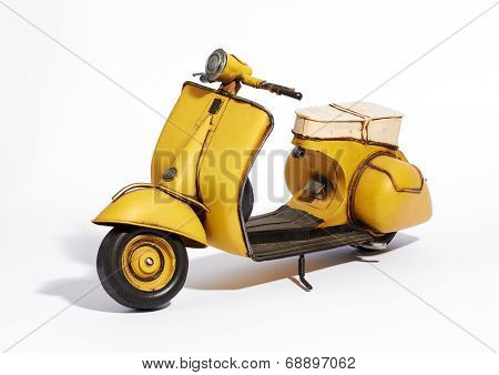 Classic Vintage Motor Scooter