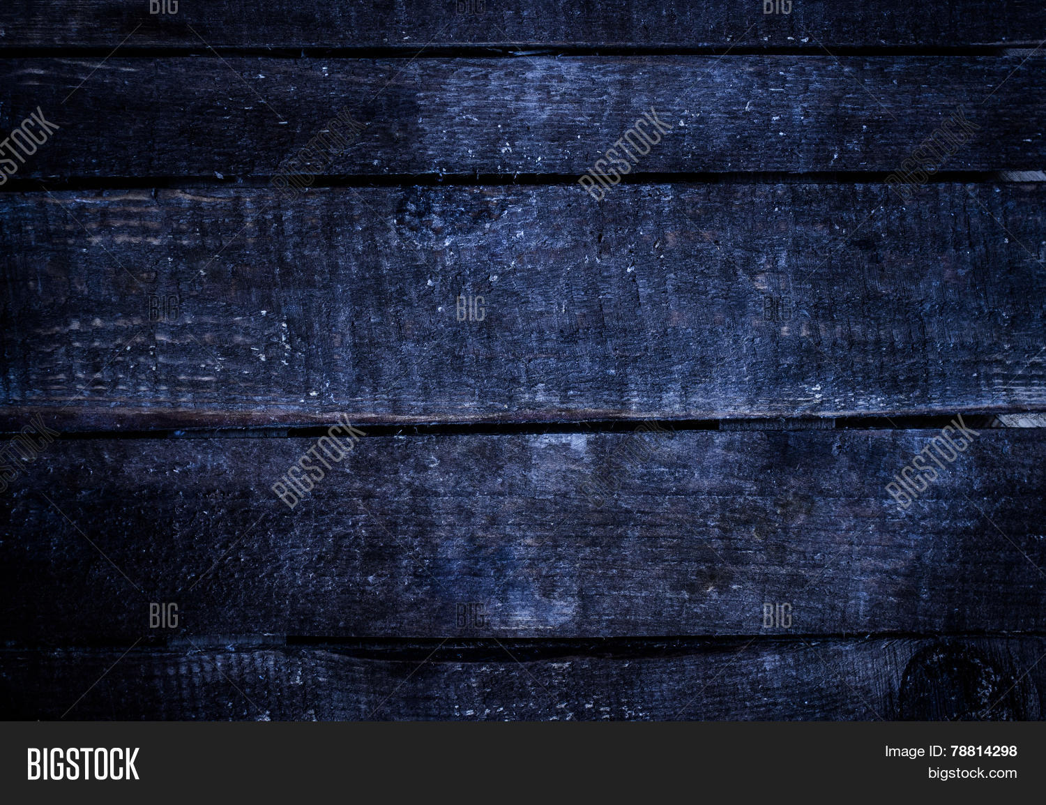 Old Dark Blue Grunge Wood Background With Knots And Scratches Rustic Weathered Wooden Plank Tex