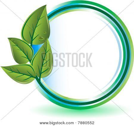 Green ecology concept