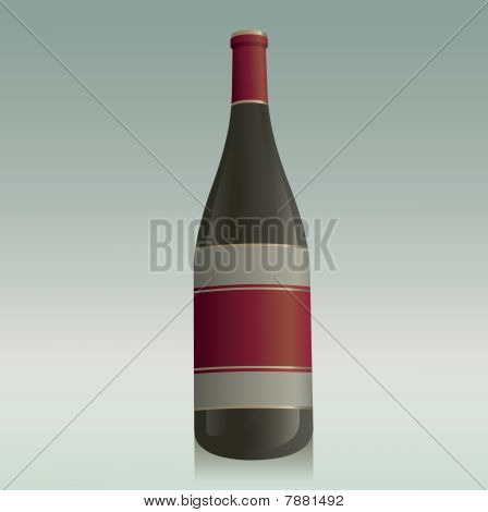 Generic Wine Bottle