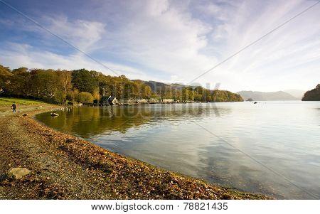 Derwent Water near Keswick in the Lake District