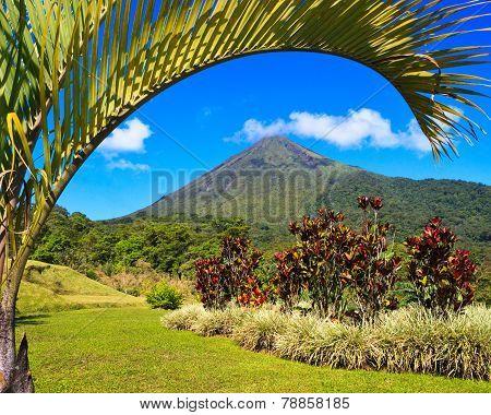 Arenal Volcano Landscape
