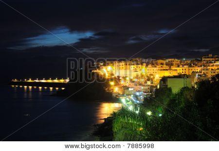Town Morro Jable At Night