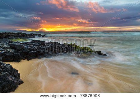 Sandy Beach Sunrise