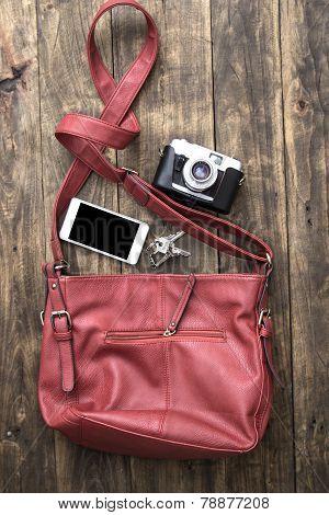 Woman Bag Stuff