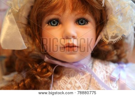 Gorgeous Victorian Porcelain Doll
