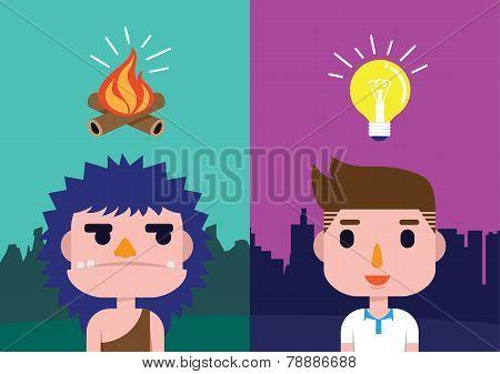 Idea in different generations.