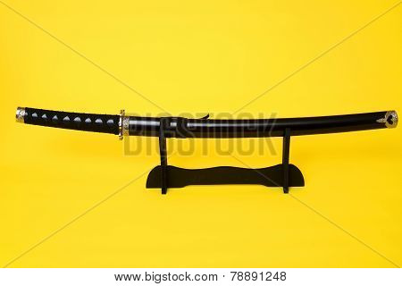 Samurai Sword Isolated
