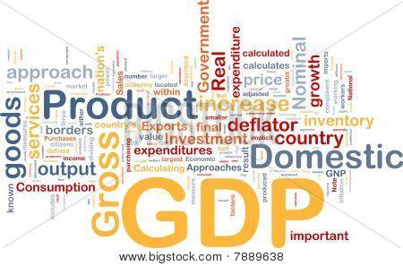 Gdp Economy Background Concept