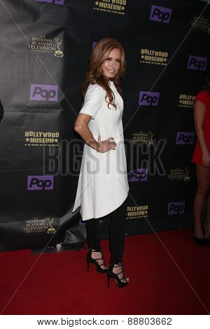 LOS ANGELES - April 21:  Tracey Bregman at the  2015 Daytime EMMY Awards Kick-off Party at the Hollywood Museum on April 21, 2015 in Hollywood, CA