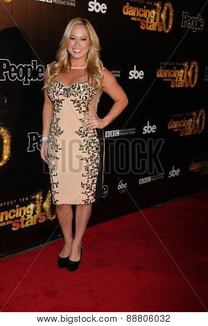 LOS ANGELES - April 21:  Sabrina Bryan at the