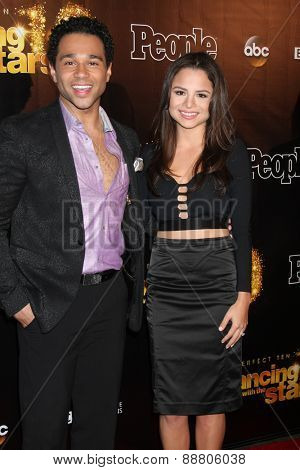 LOS ANGELES - April 21:  Corbin Bleu at the