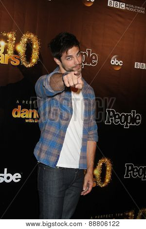 LOS ANGELES - April 21:  Brant Daugherty at the