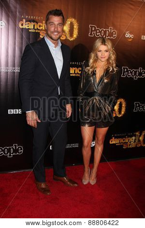 LOS ANGELES - April 21:  Chris Soules, Witney Carson at the