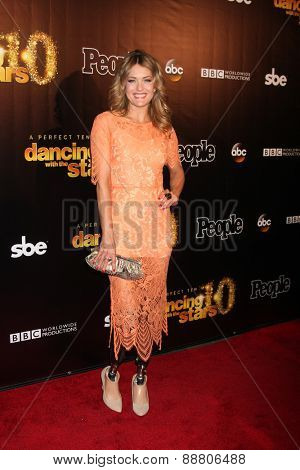 LOS ANGELES - April 21:  Amy Purdy at the