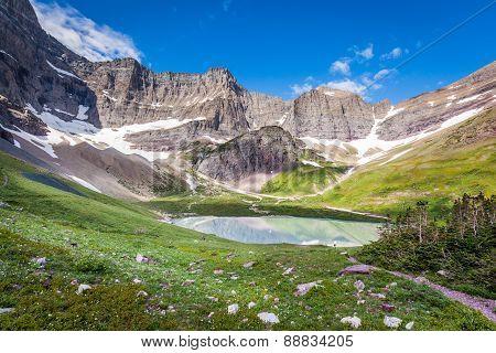 Cracker Lake Campground, Glacier National Park