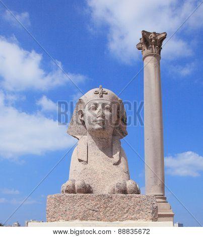 ancient monument of Alexandria