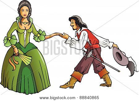 Musketeer and the Queen