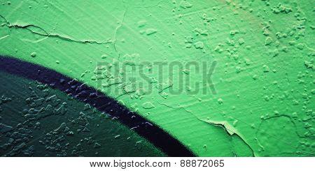Frame For Text. Graffiti Closeup - Retro Photo
