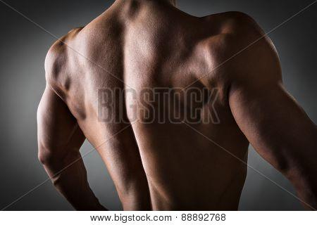 Back Of Athlete