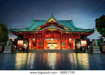 Kanda Shrine in Tokyo, Japan