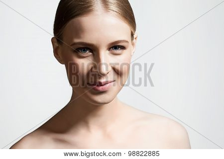 Young woman smiling at the camera