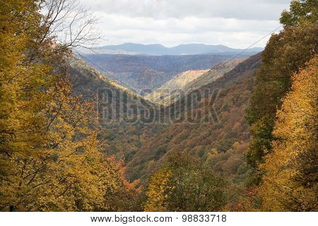 Fall Appalachian Overlook
