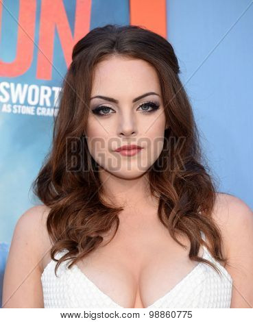 LOS ANGELES - JUL 27:  Elizabeth Gillies arrives to the