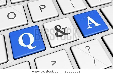 Question And Answer Computer Key