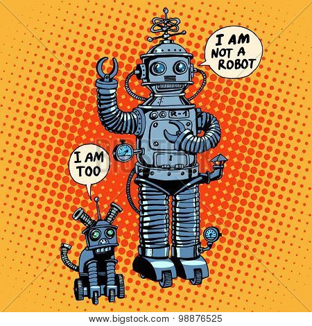 I am not a robot said dog future science fiction