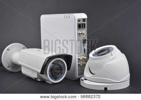 Digital Video Recorder And Video Surveillance Camera
