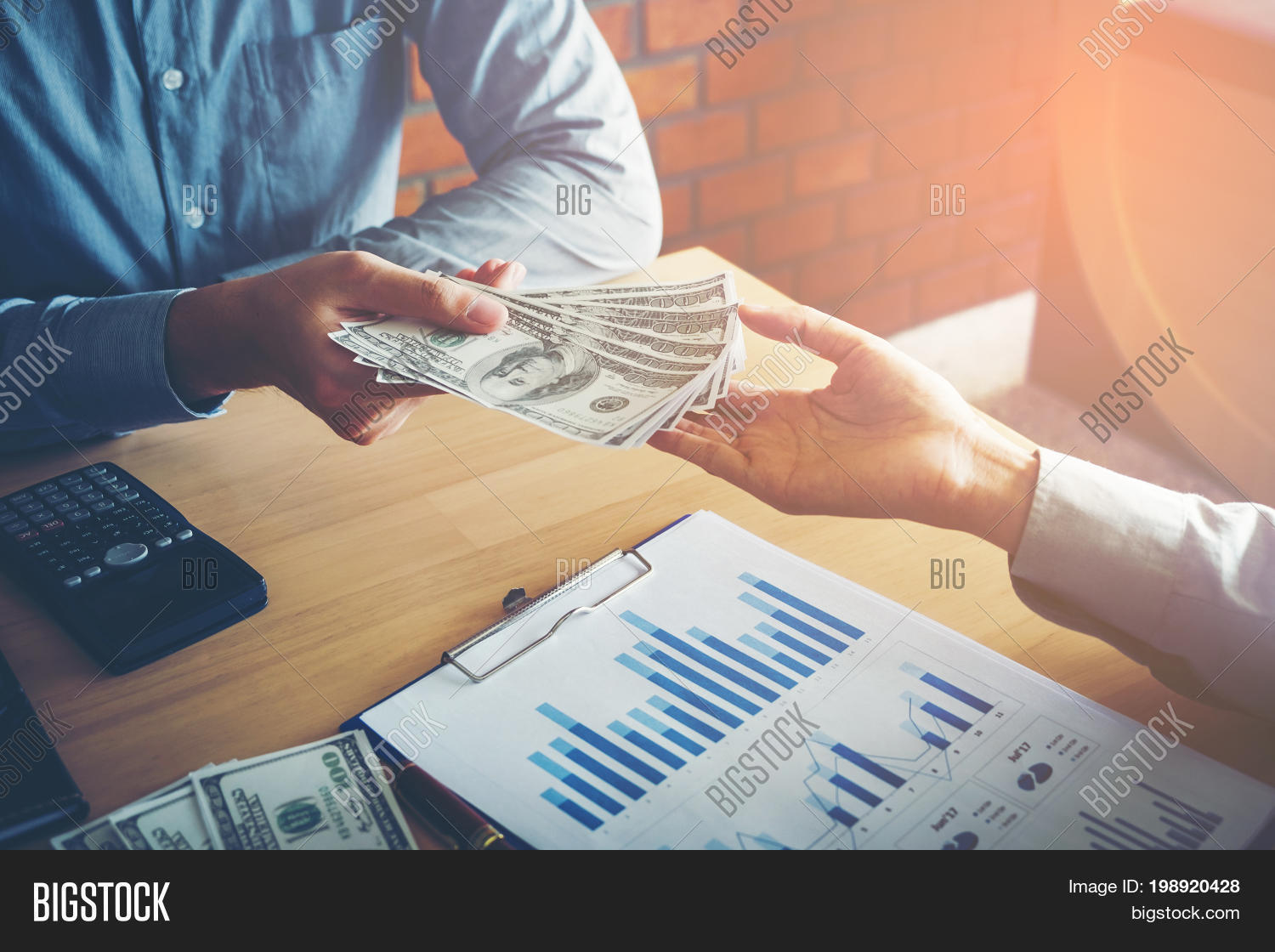 Hand Giving Money Image & Photo (Free Trial) | Bigstock
