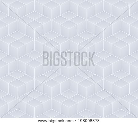 White and grey seamless background. Vector illustration