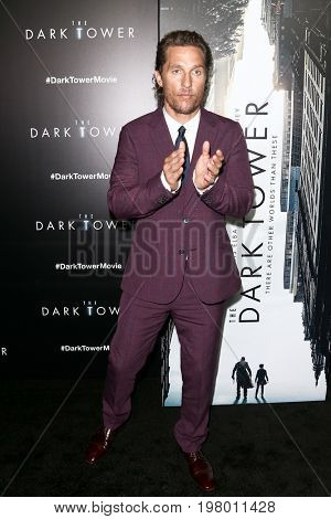 NEW YORK-JUL 31: Matthew McConaughey attends