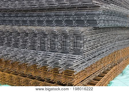 Reinforcement Steel Mesh Background 3