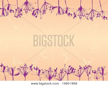 Abstract Flover Background