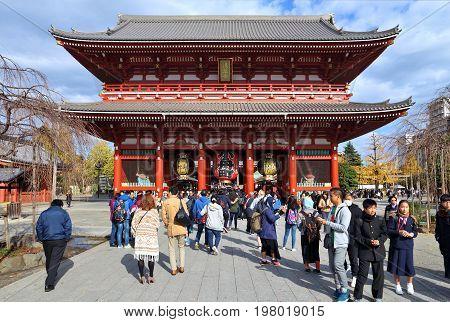 Tokyo Sensoji Temple