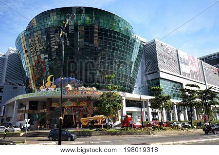 Suria Sabah A Shopping Mall In Kota Kinabalu