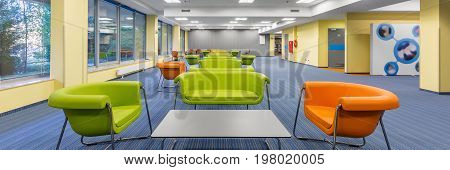 Office Interior With Lounge Area
