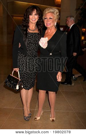 LOS ANGELES - MAR 27:  Marie Osmond, Mitzi Gaynor arriving at the 25th Annual Professional Dancers Society Gypsy Awards at Beverly Hilton Hotel on March 27, 2011 in Beverly Hills, CA