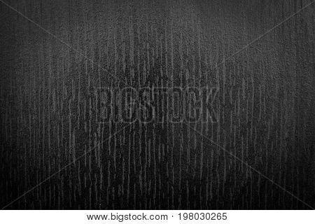 Black texture background with spotlight. Dark tone