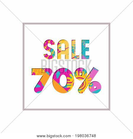 Sale 70% Off Color Quote For Business Discount