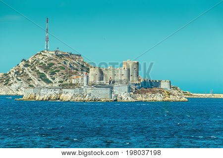 Chateau D'if, Famous Prison Mentioned In Dumas Monte Cristo Novel, Marseille