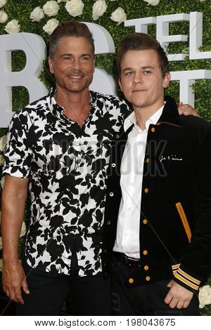 LOS ANGELES - AUG 1:  Rob Lowe, John Lowe at the CBS TV Studios Summer Soiree TCA Party 2017 at the CBS Studio Center on August 1, 2017 in Studio City, CA