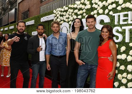 LOS ANGELES - AUG 1:  Sell Team cast at the CBS TV Studios Summer Soiree TCA Party 2017 at the CBS Studio Center on August 1, 2017 in Studio City, CA