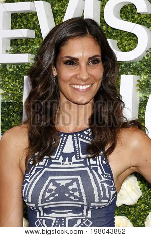 LOS ANGELES - AUG 1:  Daniela Ruah at the CBS TV Studios Summer Soiree TCA Party 2017 at the CBS Studio Center on August 1, 2017 in Studio City, CA