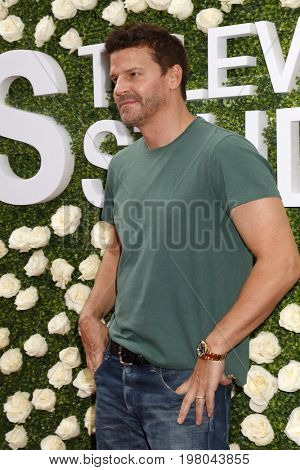 LOS ANGELES - AUG 1:  David Boreanaz at the CBS TV Studios Summer Soiree TCA Party 2017 at the CBS Studio Center on August 1, 2017 in Studio City, CA