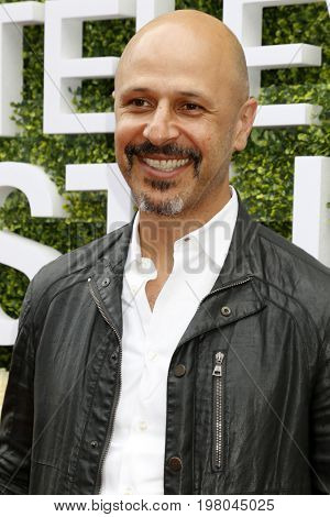 LOS ANGELES - AUG 1:  Maz Jobrani at the CBS TV Studios Summer Soiree TCA Party 2017 at the CBS Studio Center on August 1, 2017 in Studio City, CA