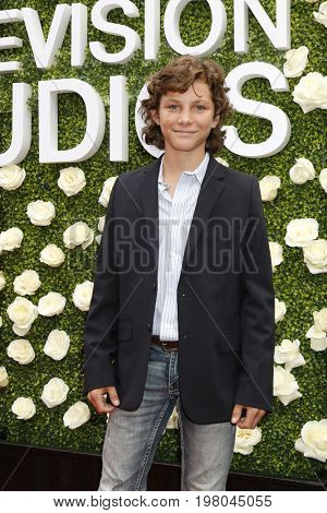LOS ANGELES - AUG 1:  Montana Jordan at the CBS TV Studios Summer Soiree TCA Party 2017 at the CBS Studio Center on August 1, 2017 in Studio City, CA